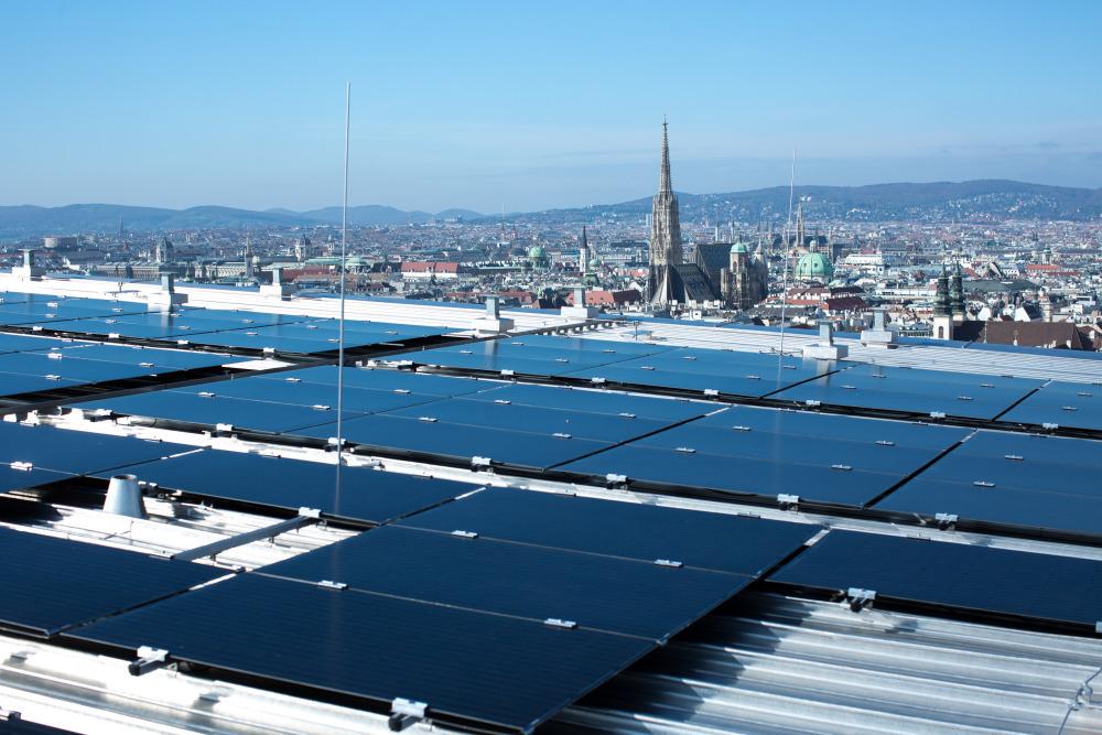 Energia solarna w Wiedniu na rekordowych poziomach...