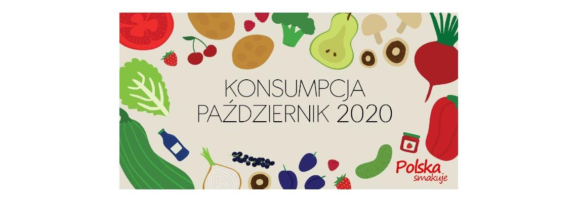 Konsumpcja warzyw i owoców w październiku 2020 roku...