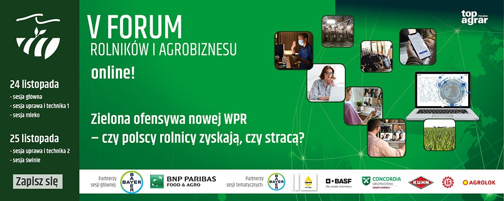 Concordia Polska partnerem Forum Rolników i Agrobiznesu...