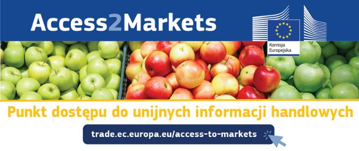 Komisja Europejska uruchamia portal Access2Markets, aby...