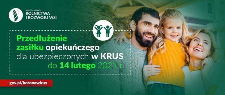 Zasiłek opiekuńczy dla ubezpieczonych w KRUS...
