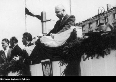 Dąb Kocioł minister rolnictwa 1947